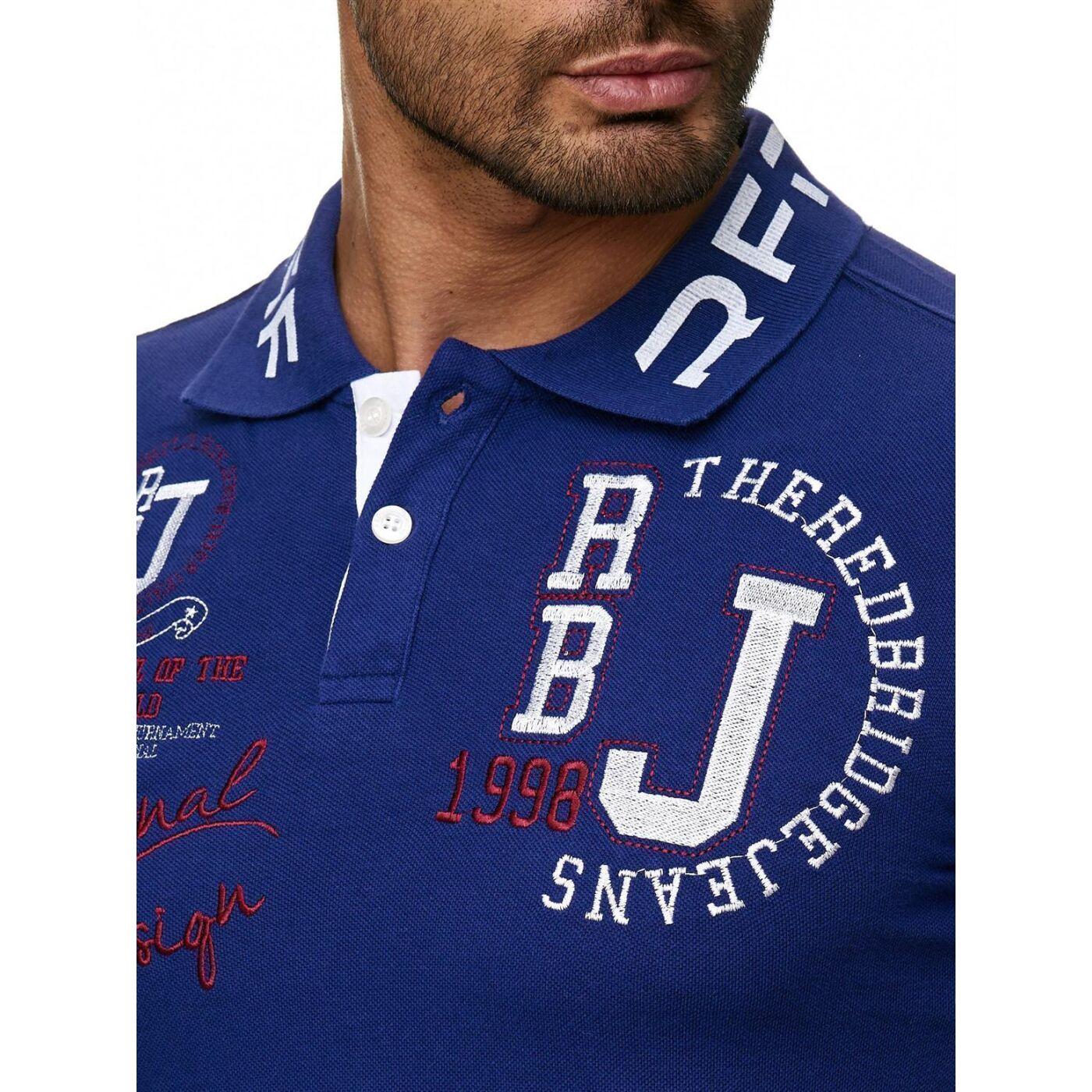 e5f071b52c2d5 Red Bridge Herren Professionel Design Poloshirts Polo- T-Shirt Violett