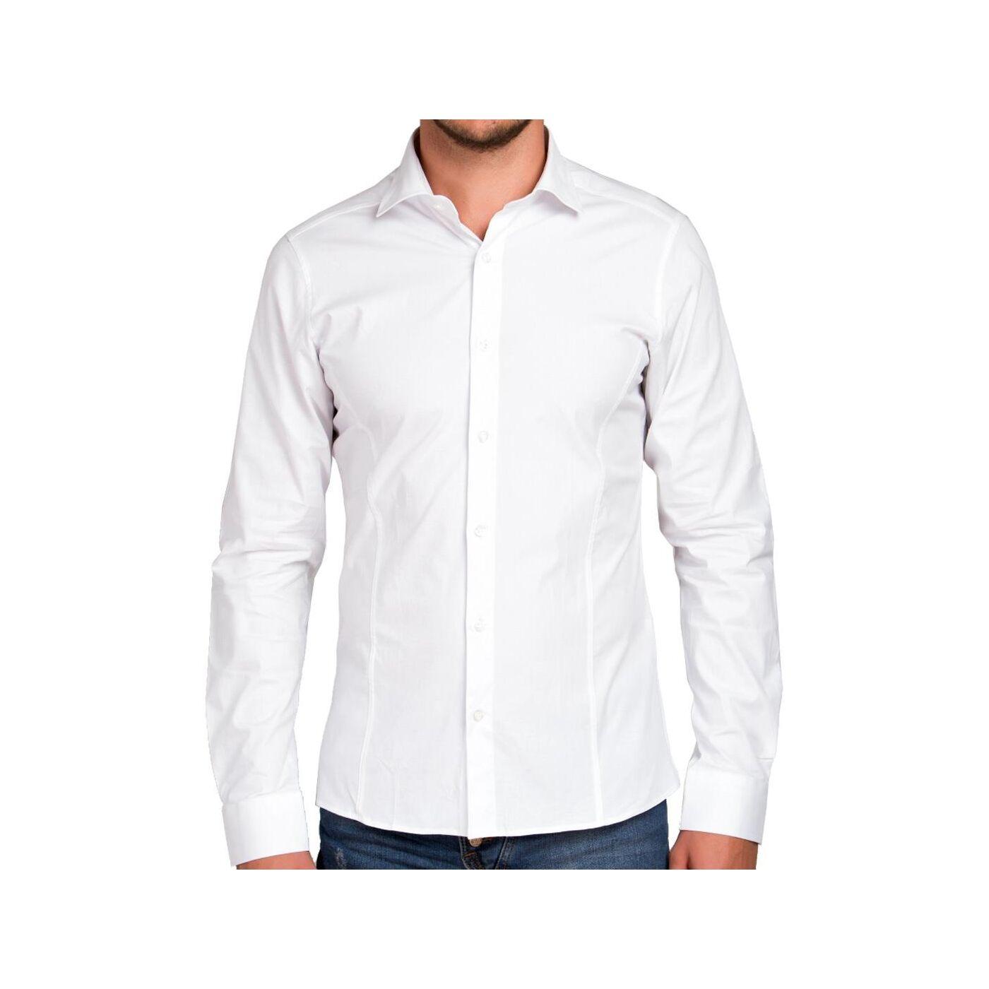 Mit Tasche Herren Hemden Herren Hemden Weiße Weiße SVpzUM