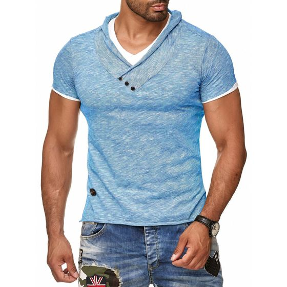 Red Bridge Herren T-Shirt Super Slim Fit Freizeitshirt...