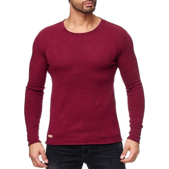Red Bridge Herren Strickpullover Checkered Royalty...