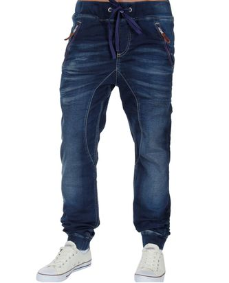 Red Bridge Herren Redemption Jog-Denim Jeans Pants blau