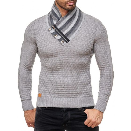 Red Bridge Herren Supple Strickpullover Pullover mit...