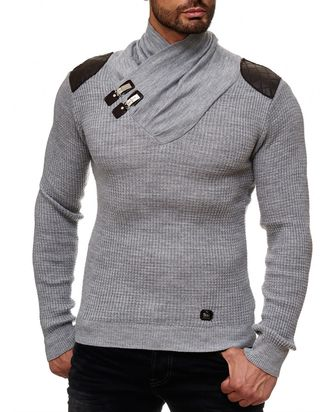 Red Bridge Herren Calmly Strickpullover Pullover mit...
