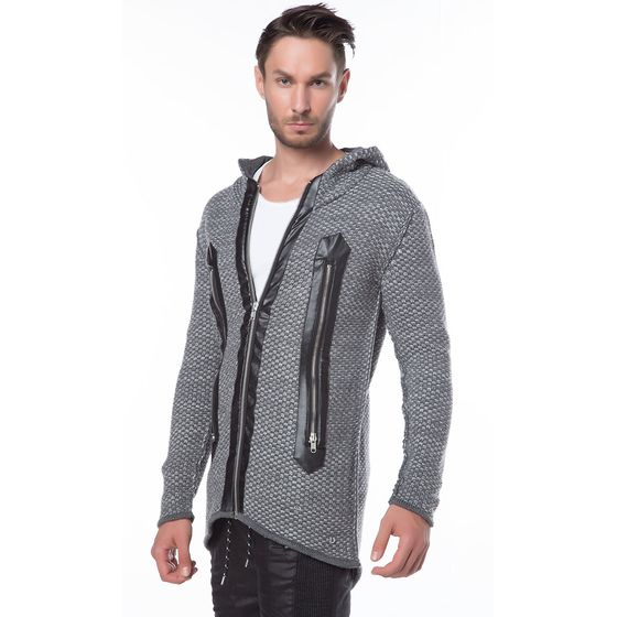 Red Bridge Herren Fly Strickjacke Anthrazit