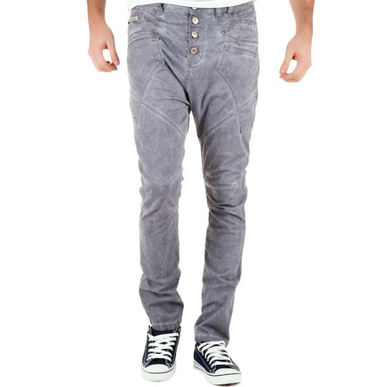 Red Bridge Herren Lounge Jeans Grau