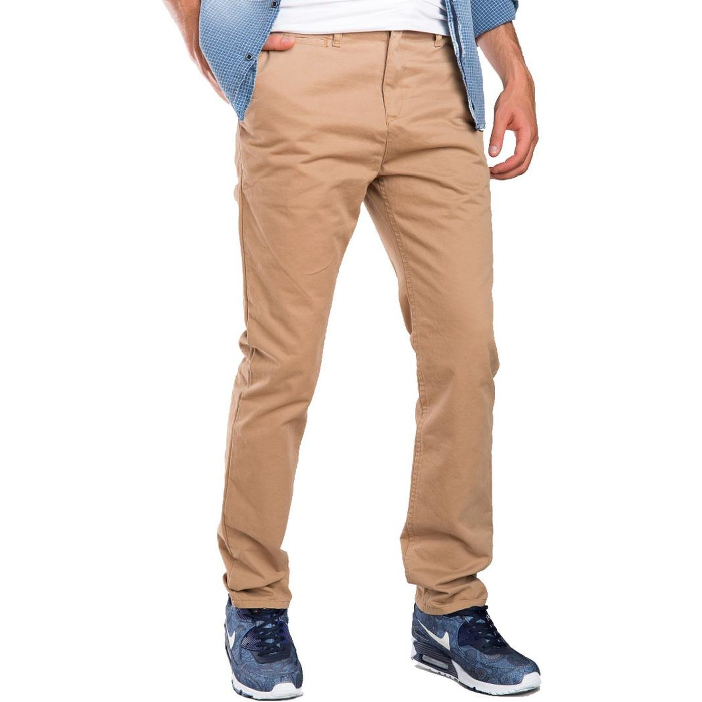 2822bffa2e Red Bridge Men BJC Straight Leg Jeans Chino Pant brown-RB-177-brown ...