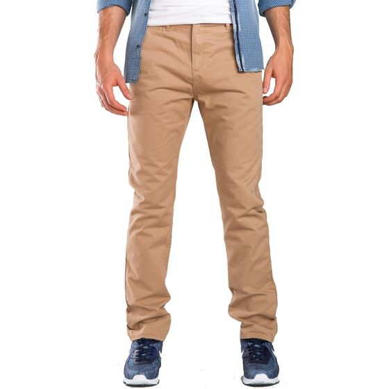 Red Bridge Herren RB-JC Straight Leg Chino Jeans Pant braun