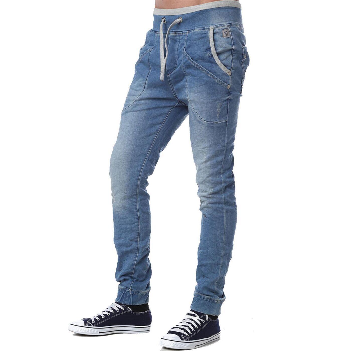 Denim Jeans M4025 Herren Jogg Blau Mit Gummizug Hose Red Bridge QECrxBedoW