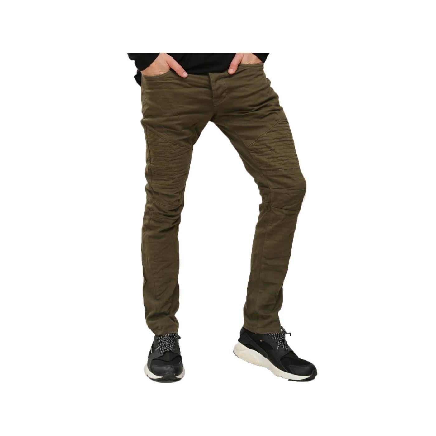 red bridge herren jeans hose biker khaki 36 99. Black Bedroom Furniture Sets. Home Design Ideas