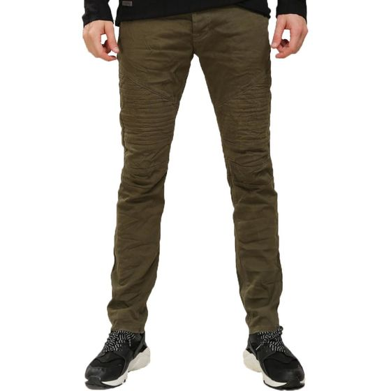 Red Bridge Herren Jeans Hose Biker Khaki