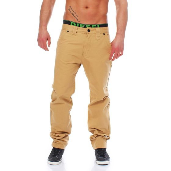 Red Bridge Herren Chino Hose Low Cut Freizeit Stoffhose...