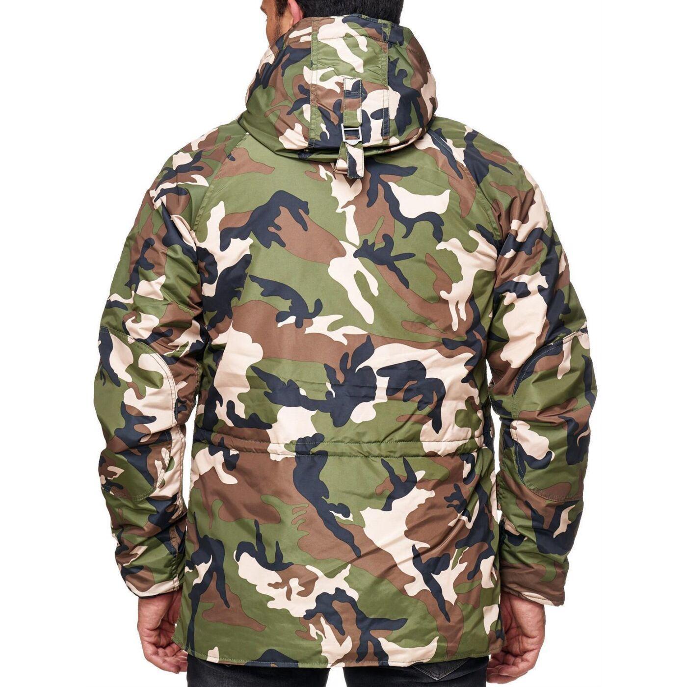 redbridge herren winterjacke jacke parka camouflage mantel. Black Bedroom Furniture Sets. Home Design Ideas