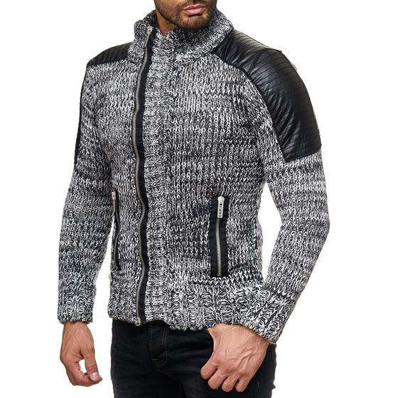 Red Bridge Herren RBC Cardigan Strickjacke Strickpullover...
