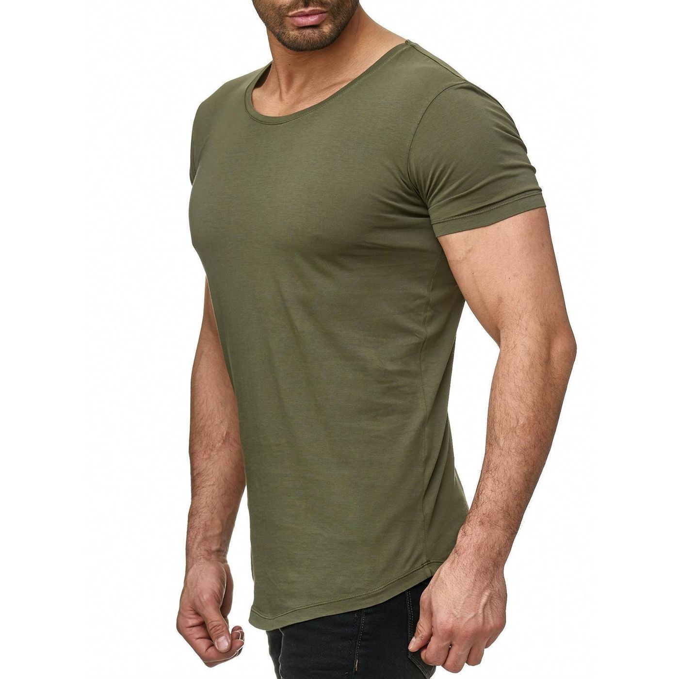 16d0828c276023 Red Bridge Men Basic Oversized T-Shirt khaki M1116-khaki - Redbridge ...
