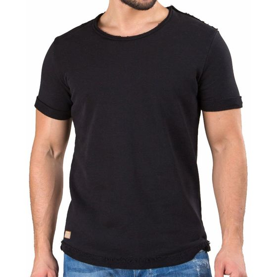 Red Bridge Herren T-Shirt TurnToTwo Schwarz