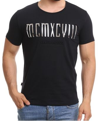 Red Bridge Herren T-Shirt MCMXCVIII Modern Characters...