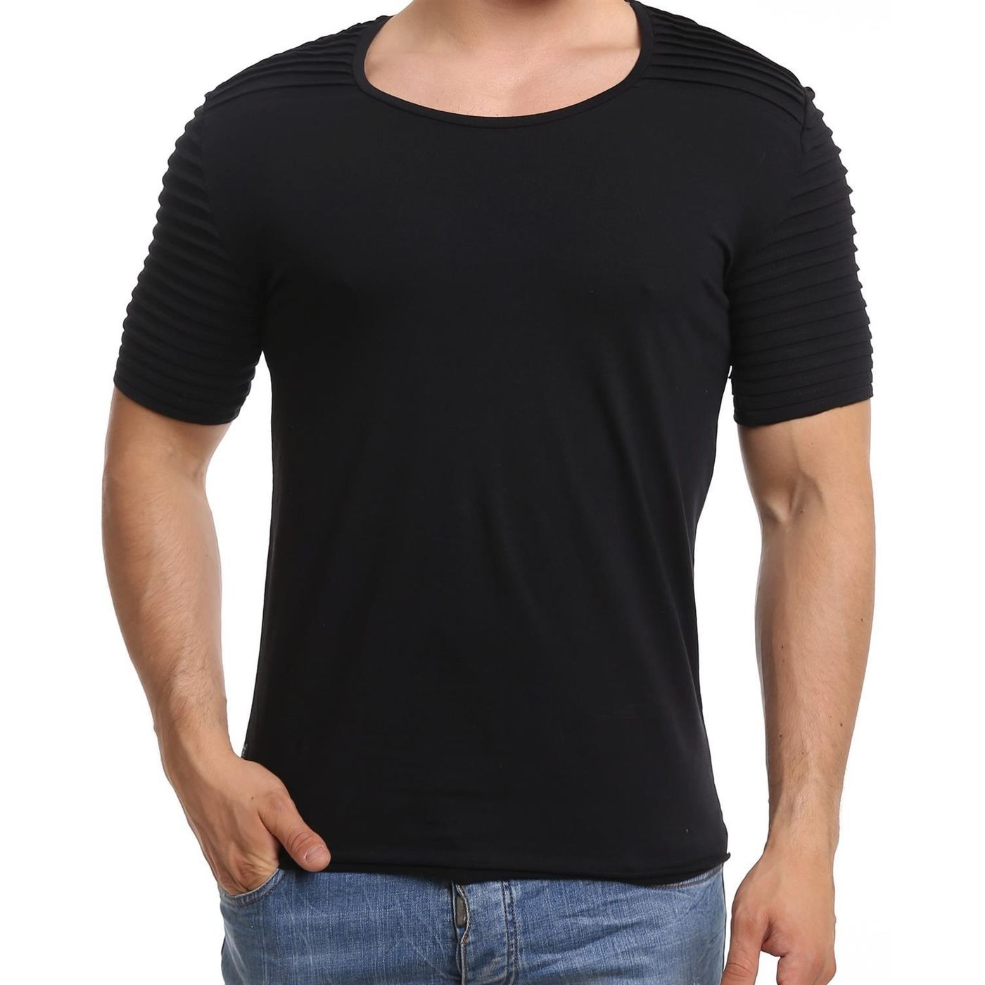 976d102a065741 Red Bridge Herren Oversize Basic T-Shirt M1035-black - Redbridge ...