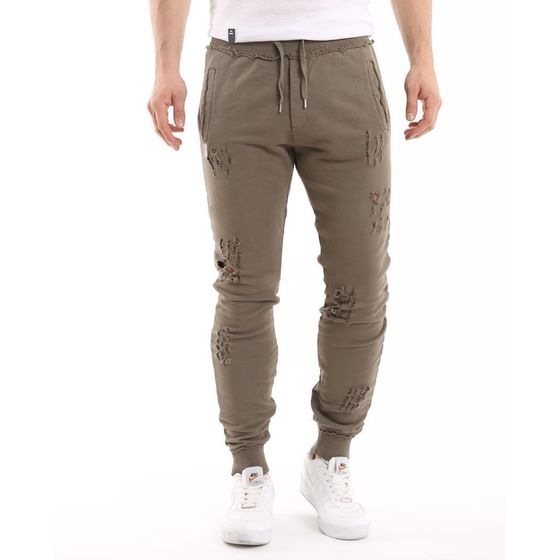 Red Bridge Herren Ripped Destroyed Jogginghose Pants