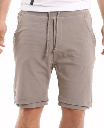 Red Bridge Herren Double Layered Stone Shorts