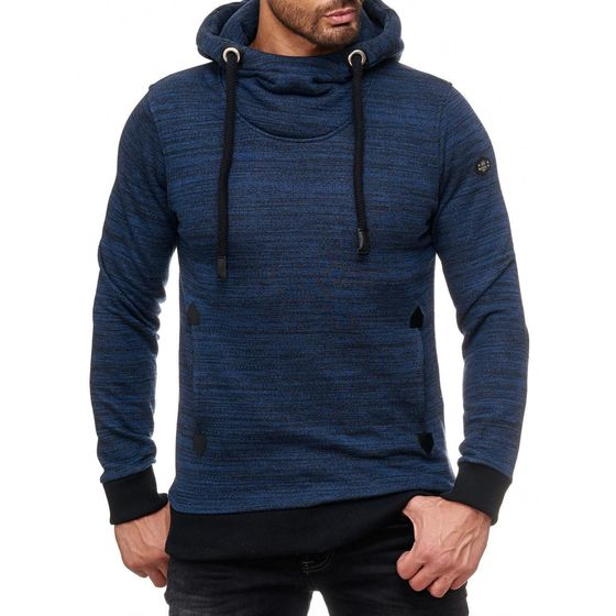 Redbridge Mens Melange RBC Sweatshirt Hooded Sweater...