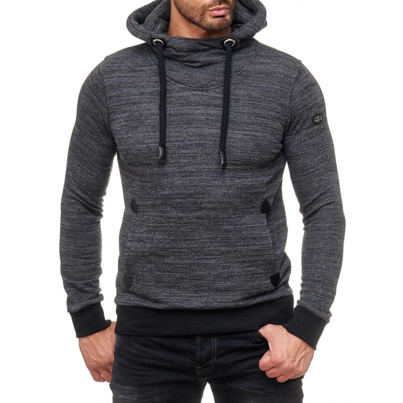 Herren Pullover und Sweatshirt Stehkragen Langarm, 18,99 €