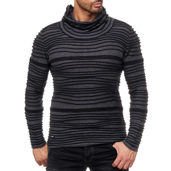 Red Bridge Men TRBC fashion rip structure Sweater Sweater...
