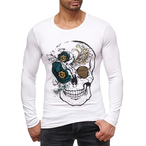 Red Bridge Men´s Hardy Skull Motif Sweater Sweatshirt...
