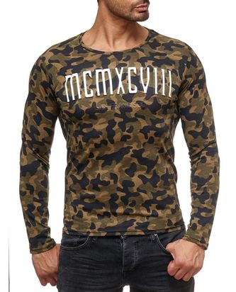 Red Bridge Herren Muscle Camo MCMXCVIII Longsleeve...