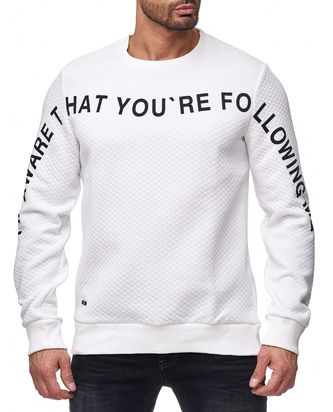 Red Bridge Herren Pullover Sweat you are following me...