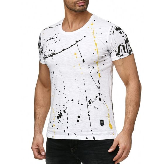 Red Bridge Herren T-Shirt Splatter Pain