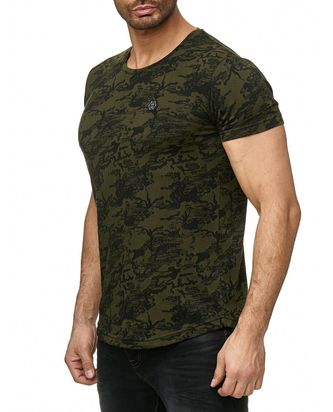 Red Bridge Herren T-Shirt Deluxe Camouflage