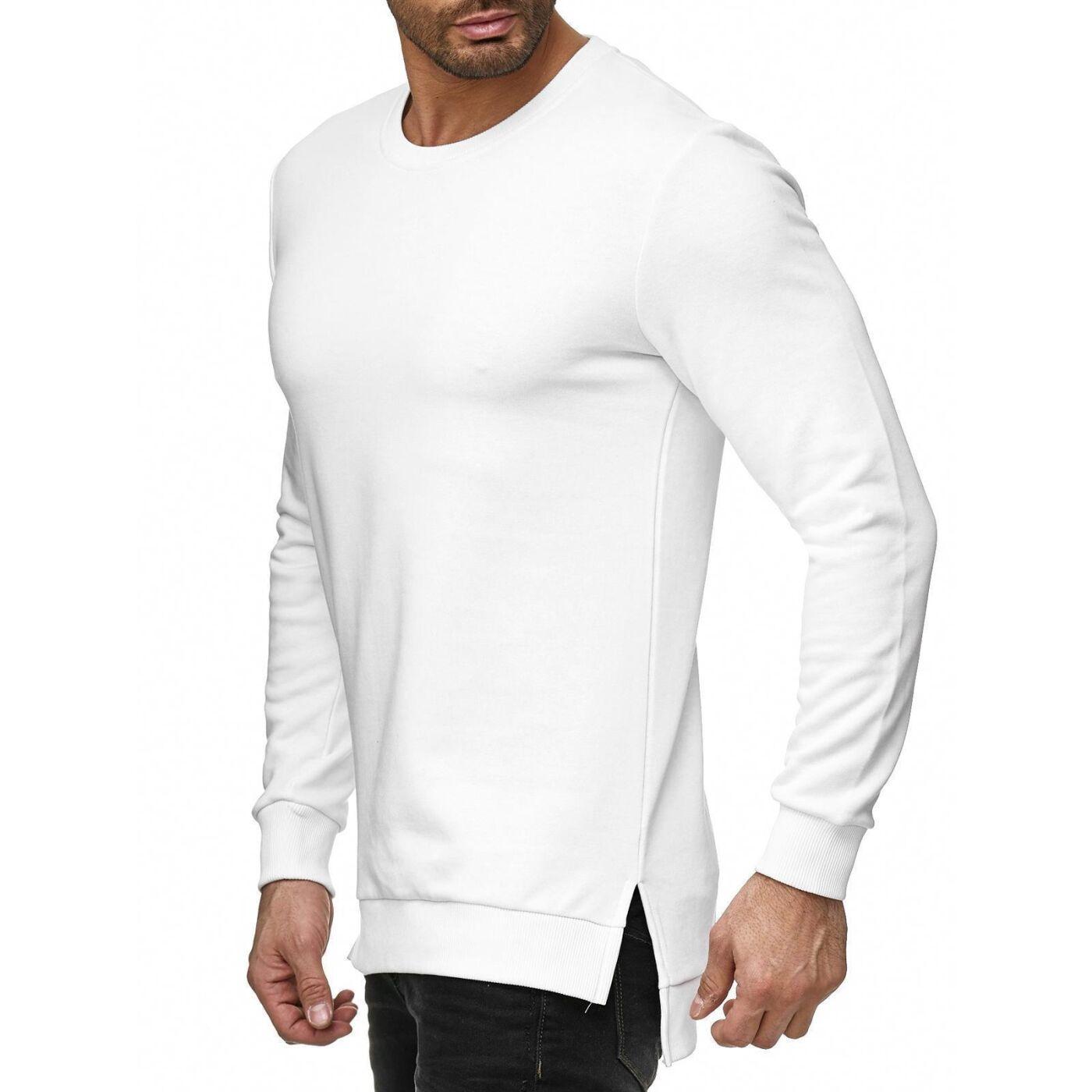 606d477fe6c8a8 Red Bridge Herren Pullover Sweatshirt Longshirt Premium Basic M2152 ...