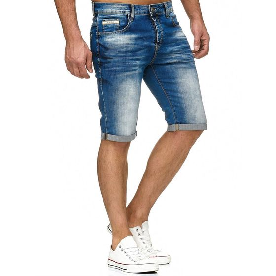 Red Bridge Herren Jeans Short Kurze Hose Denim Basic