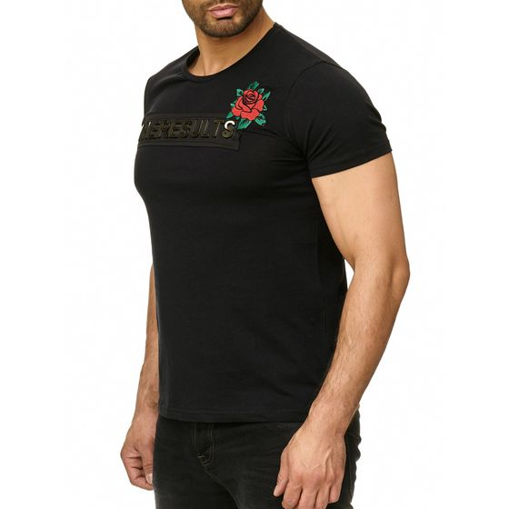 Red Bridge Herren T-Shirt The Results 3D Patch