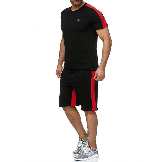 Red Bridge Herren T-Shirt und Shorts Set Chill Bill