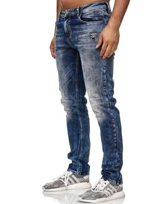 Red Bridge Herren Jeans Hose Regular-Fit Patch