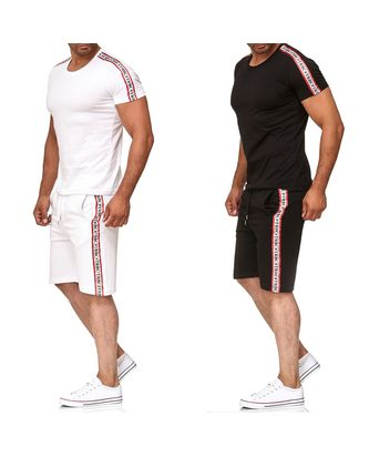 Red Bridge Herren Set T-Shirt und Kurze Hose Short TRBC Line