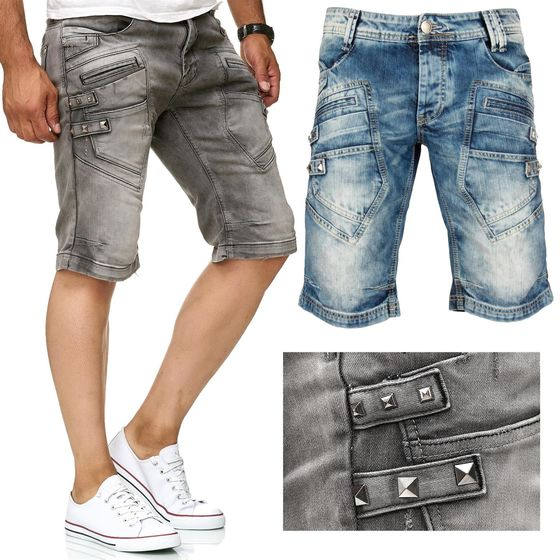Red Bridge Herren Keep Back Jeans Shorts kurze Hose