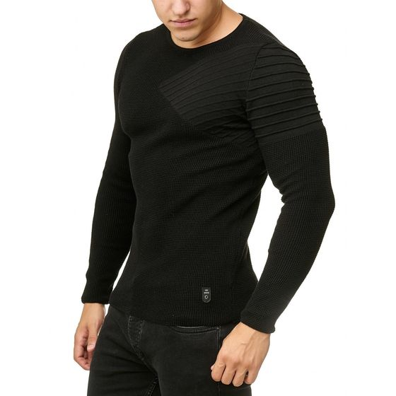 Red Bridge Herren Knit Sweater Arrow Shoulder Pullover