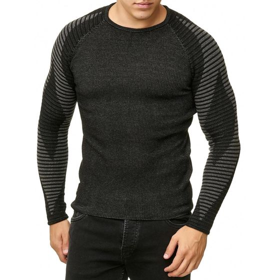 Red Bridge Herren Strickpullover Diamond Pullover