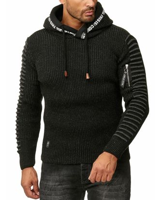 Red Bridge Herren Strickpullover Kapuzenpullover This Is...