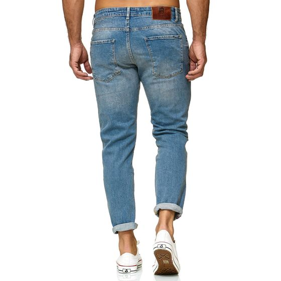Red Bridge Herren Jeans Hose Regular-Fit Ripped TRBC Titan
