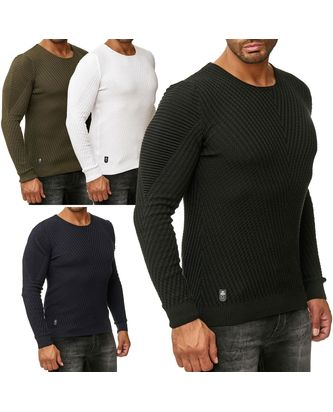 Red Bridge Herren Strickpullover V-Line Pullover