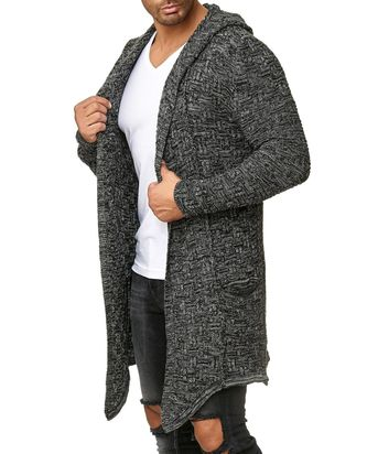 Red Bridge Herren Strickjacke Übergangsjacke Cardigan...