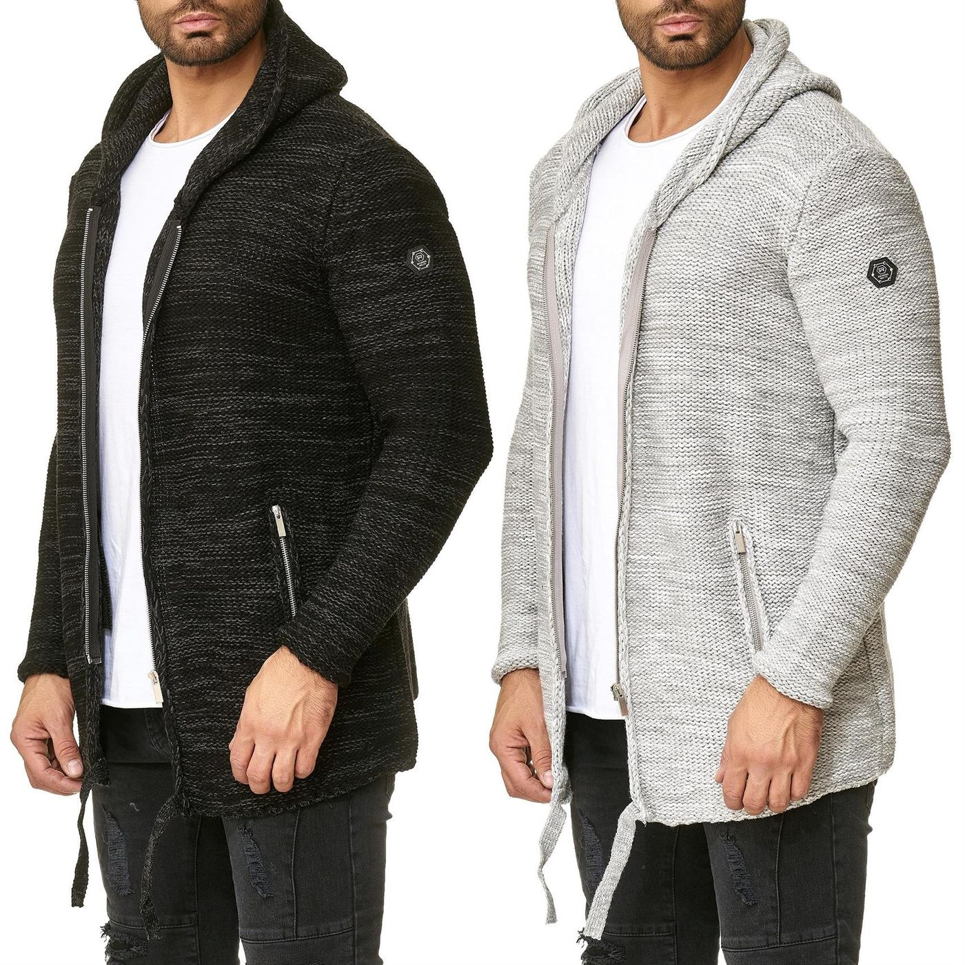 9d7c64b3c Mens Hooded Cardigan