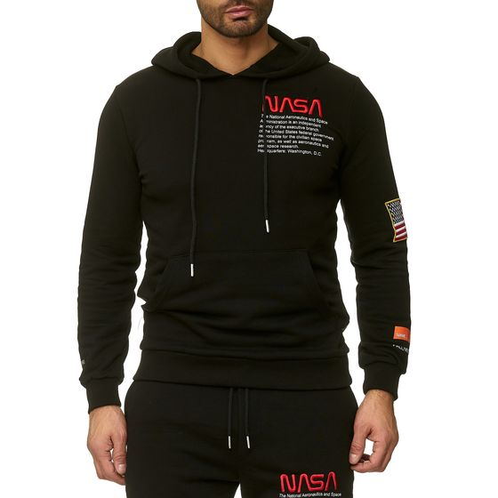 Red Bridge Mens Hoodie Hoodie Sweatshirt NASA