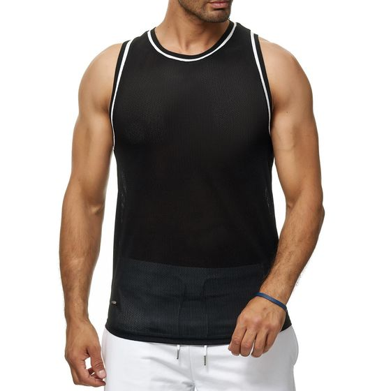 Red Bridge Herren Tank Top Mesh Fresh Air Ärmellos