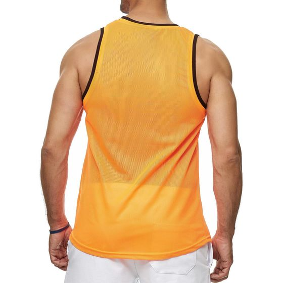 Red Bridge Mens Tank Top Mesh Fresh Air Sleeveless