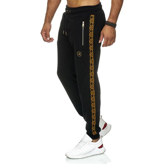 Red Bridge Men Joggers Jogger Pants Sweat-Pants R-Logo...