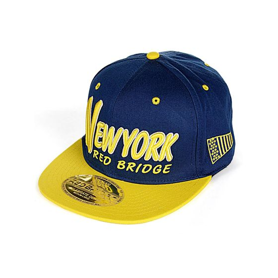 Red Bridge Unisex New York Cap Snapback Bestickt